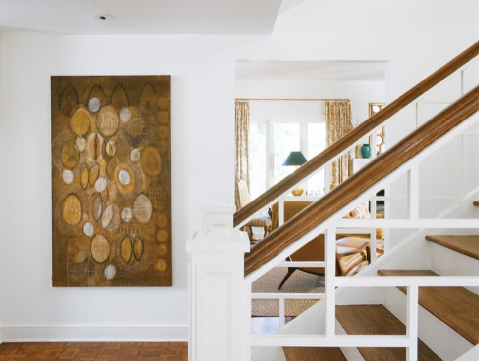 Image of staircase after renovation referenced in the Atlas Concorde USA blog from William Stites