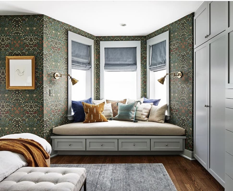 Bay window before renovation image referenced in the Atlas Concorde USA blog from Zoe Feldman Design