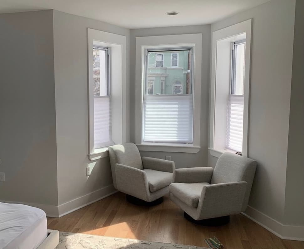 Bay window after renovation image referenced in the Atlas Concorde USA blog from Zoe Feldman Design