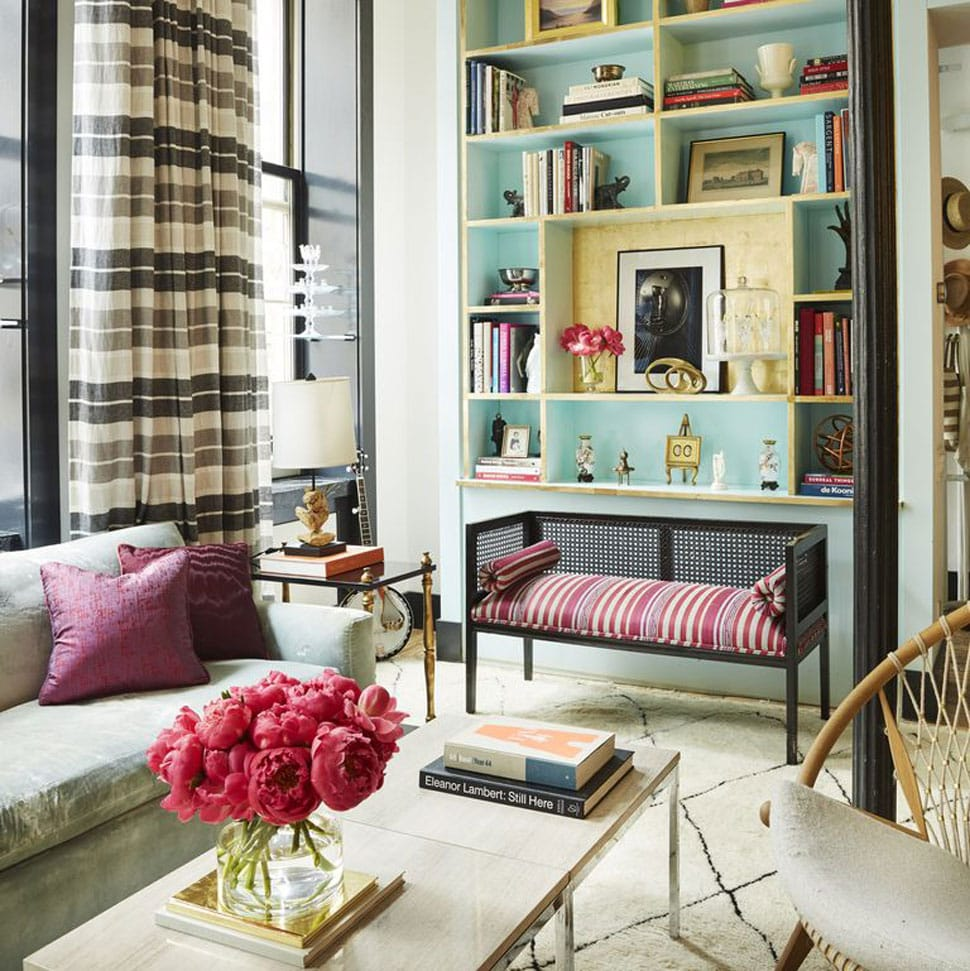 Living Room image referenced in the Atlas Concorde USA blog from Nicole Fuller Interiors