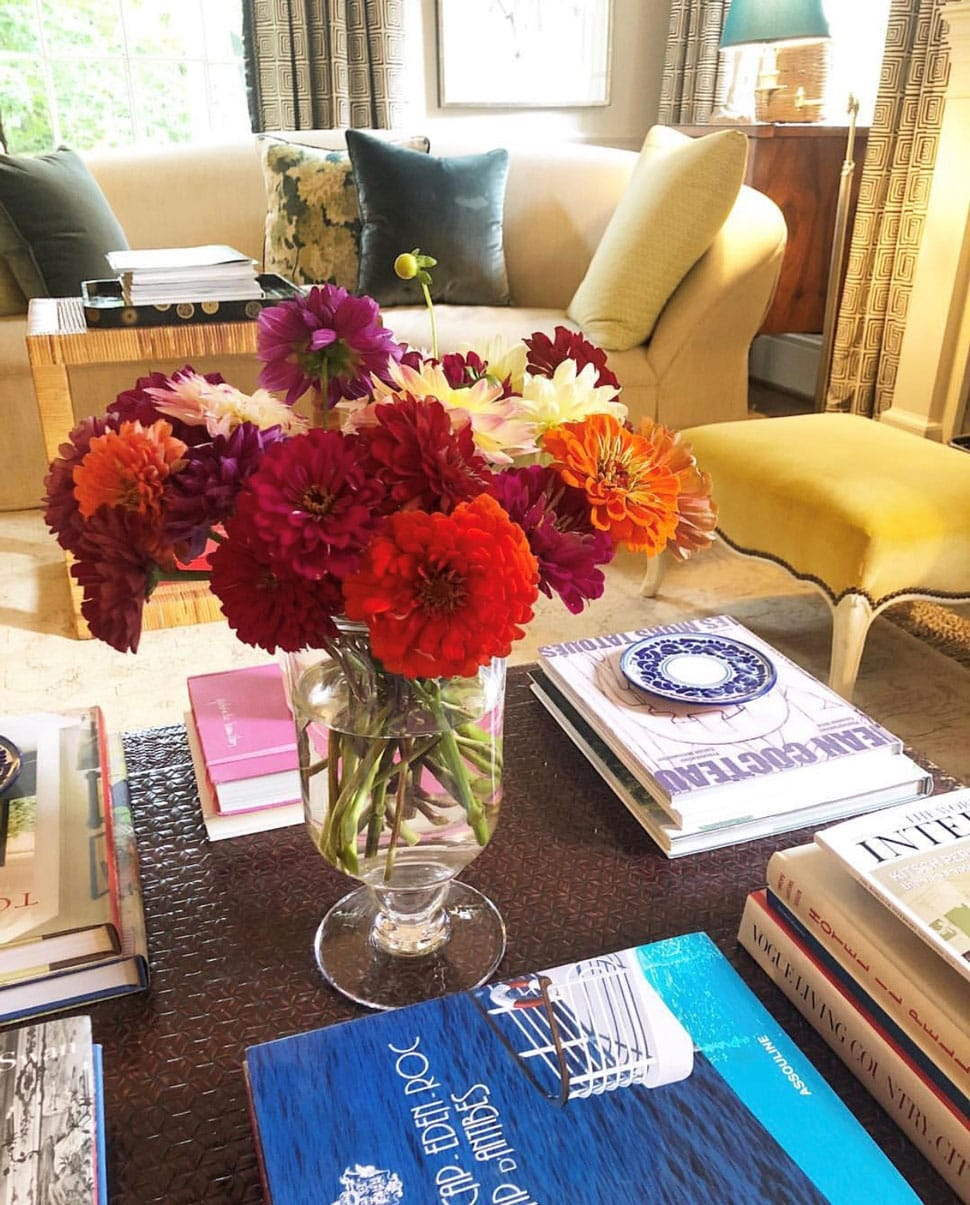 Coffee table image referenced in the Atlas Concorde USA blog from Matthew Carter Interiors