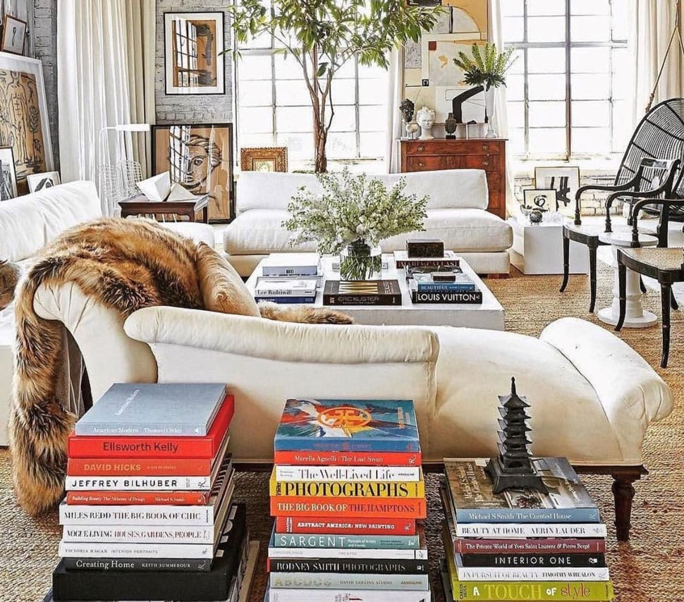 Cozy living room image referenced in the Atlas Concorde USA blog from ASSOULINE