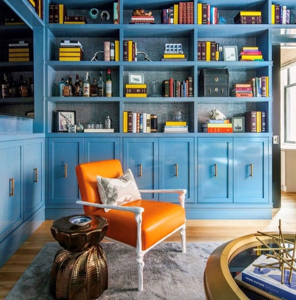 Beautiful living room image referenced in the Atlas Concorde USA blog from Thom Filicia