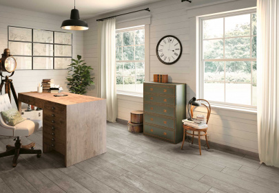 Beautiful porcelain tile with a wood look from the Atlas Concorde USA Haven Collection