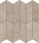 Cove Coast chalk-look porcelain tile in apex pattern from Atlas Concorde USA - sample