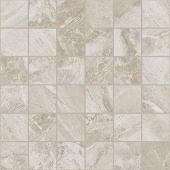 Impression Collection Gray marble-look porcelain tile in 2x2 mosaic from Atlas Concorde USA - sample