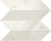 Liberty collection in Calacatta Centennial marble-look mosaic ceramic wall tile from Atlas Concorde USA - sample