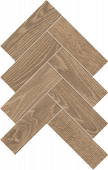 Homeland Collection Rye wood-look porcelain tile in herringbone pattern from Atlas Concorde USA - Sample