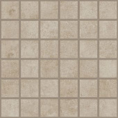 Cove Coast chalk-look porcelain tile in mosaic pattern from Atlas Concorde USA - sample