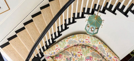 Image of beautiful entry in the Atlas Concorde USA blog from Collins Interiors