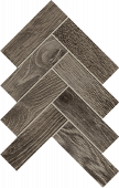 Homeland Collection Wool wood-look porcelain tile in herringbone pattern from Atlas Concorde USA - Sample
