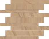 Native Collection West Quartzite stone-look porcelain tile in brick mosaic from Atlas Concorde USA - sample