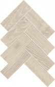 Homeland Collection Wheat wood-look porcelain tile in herringbone pattern from Atlas Concorde USA - Sample