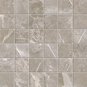 Liberty Collection Franklin Grey marble-look porcelain tile in 2x2 mosaic from Atlas Concorde USA - sample