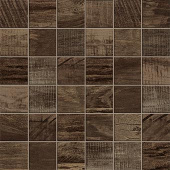 Redeem Collection Ash wood-look porcelain tile in 2x2 mosaic from Atlas Concorde USA - sample