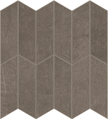 Cove Storm chalk-look porcelain tile in apex pattern from Atlas Concorde USA - sample