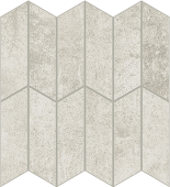 Cove Linen chalk-look porcelain tile in apex pattern from Atlas Concorde USA - sample