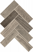 Homeland Collection Cloud wood-look porcelain tile in herringbone pattern from Atlas Concorde USA - Sample