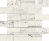 Liberty Collection New England marble-look porcelain tile in mosaic pattern from Atlas Concorde USA - Sample
