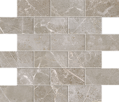 Liberty Collection Franklin Grey marble-look porcelain tile in mosaic pattern from Atlas Concorde USA - Sample