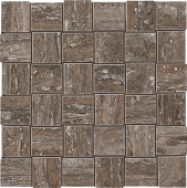 Path Collection Moka stone-look porcelain tile in mosaic pattern from Atlas Concorde USA - sample