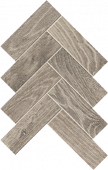 Homeland Collection Silo wood-look porcelain tile in herringbone pattern from Atlas Concorde USA - Sample