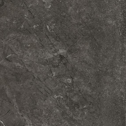 Marble and soapstone-look with Rooted Anthracite porcelain tile from Atlas Concorde USA - thumbnail