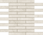 Exist Collection Brick White cement-look porcelain tile from Atlas Concorde USA - sample