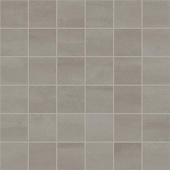 Reflex Collection Titanium metal-look porcelain tile in 2x2 mosaic from Atlas Concorde USA - sample
