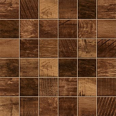 Redeem Collection Bourbon wood-look porcelain tile in 2x2 mosaic from Atlas Concorde USA - sample