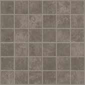 Cove Storm chalk-look porcelain tile in mosaic pattern from Atlas Concorde USA - sample