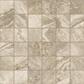 Impression Collection Taupe marble-look porcelain tile in 2x2 mosaic from Atlas Concorde USA - sample