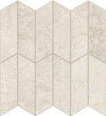 Cove Breeze chalk-look porcelain tile in apex pattern from Atlas Concorde USA - sample