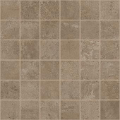 Exist Collection Taupe cement-look porcelain tile in 2x2 mosaic from Atlas Concorde USA - sample