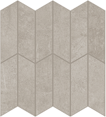 Cove Pebble chalk-look porcelain tile in apex pattern from Atlas Concorde USA - sample