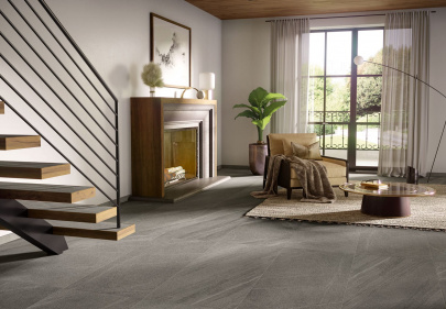 Get comfortable with the modern stone look and feel of Atlas Concorde USA's Outland.