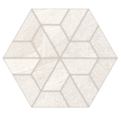 Outland Pure  Multi-Hex Mosaic porcelain tile from Atlas Concorde USA - thumbnail