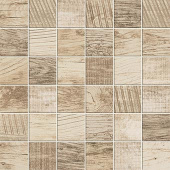 Redeem Collection Wax wood-look porcelain tile in 2x2 mosaic from Atlas Concorde USA - sample