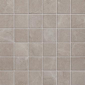Eon Collection Corinthian Grey marble-look porcelain tile in mosaic pattern from Atlas Concorde USA - Sample