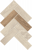 Homeland Collection Sun wood-look porcelain tile in herringbone pattern from Atlas Concorde USA - Sample