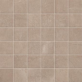 Eon Collection Corinthian Beige marble-look porcelain tile in mosaic pattern from Atlas Concorde USA - Sample
