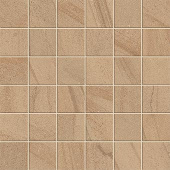Native Collection West Quartzite stone-look porcelain tile in 2x2 mosaic from Atlas Concorde USA - sample