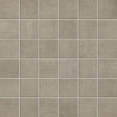 Fray Collection Gray fabric-look porcelain tile in 2x2 mosaic from Atlas Concorde USA - sample