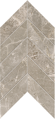 Liberty Collection Franklin Grey marble-look porcelain tile in chevron pattern from Atlas Concorde USA - Sample