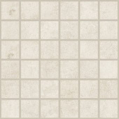 Cove Breeze chalk-look porcelain tile in mosaic pattern from Atlas Concorde USA - sample