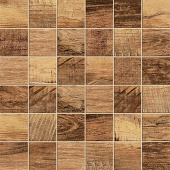 Redeem Collection Gold wood-look porcelain tile in 2x2 mosaic from Atlas Concorde USA - sample