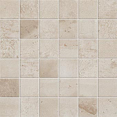 Forge Collection Tin metal-look porcelain tile in 2x2 mosaic from Atlas Concorde USA - sample