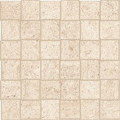 Limestone-looking Rise Light porcelain tile in net mosaic pattern from Atlas Concorde USA- sample