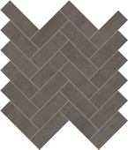 Fray Smoke Herringbone Mosaic porcelain tile from Atlas Concorde USA - thumbnail
