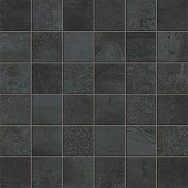Forge Collection Steel metal-look porcelain tile in 2x2 mosaic from Atlas Concorde USA - sample